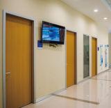 Projeto da porta do quarto da estação da enfermeira do hospital