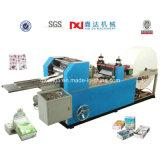 Máquina plegable grabada automática llena de la fabricación de papel del pañuelo Pocket