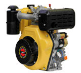 Moteur diesel refroidi à l'air du prix concurrentiel 186fa de moteur diesel de la qualité 1-Cylinder 4-Stroke
