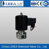 Elettrovalvola a solenoide a tre vie dell'acciaio inossidabile di prezzi bassi della Cina