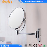 Het kosmetische 3X Chroom van het Messing plateerde Muur Opgezette Spiegel