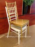 熱い販売法のアルミニウム結婚式の椅子のTiffanyの椅子のChiavariの椅子