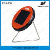 Lámpara solar del LED para el estudio de interior con el panel solar de la eficacia alta