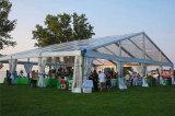 屋外の防水白く大きく安い結婚式の玄関ひさし党テント