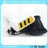 5V 1A /2.4A는 출력했다 3 운반 USB 차 충전기 (ZYF9103)를