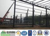 Edificio de marco de acero de la conexión de empernado, empernado de alta resistencia, estructura fuerte