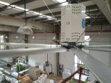 Sicurezza a basso rumore e alta e ventilatore di soffitto di uso di industria 61rpm di affidabilità 7.4m (24FT)