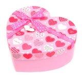 심혼 모양/둥근 서류상 선물 상자 종이 여행 가방 저장 상자
