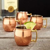 Hotsale S304 Stainless Moscú Mule Drink Cups con Cheaper Price