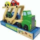 Juguetes de madera del carro de la ingeniería de buena calidad