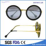 Gafas de sol plásticas del metal de los hombres de las gafas de sol de la promoción del diseñador