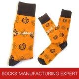 Bunte Form-beiläufiges Kleid-Socken der Männer (UBM 1016)