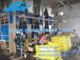 Pesant et machine à ensacher pour le matériau en bloc