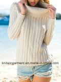 Madame Oversized Cotton Sweatershirt par modèle de tricotage