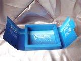 Zoll bereiten preiswertes Kraftpapier-Großhandelspapierschwarzes/Brown-Seifen-verpackenkasten auf