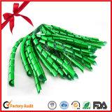 金属PPのクリスマスのカールのリボンの弓
