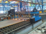 Het vlakke Stuk die van het Werk van het Metaal Scherpe Machine, CNC Controle scheuren