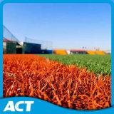2016 nuevos pista del choque de la colección XPE para el césped sintetizado, y de calidad superior, FAVORABLE arpillera probada de la FIFA de la hierba artificial