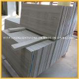 Plancher de marbre en pierre en bois en bois gris de salle de bains et de cuisine de la Chine /Athen