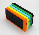 Carregador solar portátil Ultrathin 5000mAh do curso com capacidade total