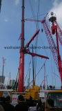 Cilindro de elevación del petróleo hidráulico del proyecto