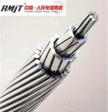 Conductor de aluminio descubierto del aluminio del conductor AAC AAAC ACSR del cable de arriba