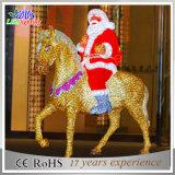 Acrylique chaud le père noël de la décoration 3D de Noël