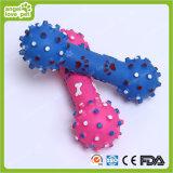 Brinquedo do Dumbbell do vinil do cão de animal de estimação, produtos do animal de estimação (HN-PT070)