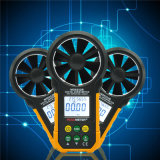 Ms6252b Dgital Anemometer-Feuchtigkeits-Temperatur-Messinstrument-Luft-Strömungsmesser-Prüfvorrichtung