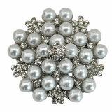 VAGULA 2016 Form-silberne Perlen-Brosche VAG62270
