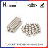 ISO/Ts16949 de Gediplomeerde Aangepaste Sterke Magneet van het Neodymium N35-N54