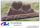 Pietra tombale a forma di del doppio cuore
