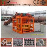 Machine de fabrication de briques creuses en béton / Machine à fabriquer des blocs massifs en Algérie, au Nigéria et en Tanzanie Qtj4-26c