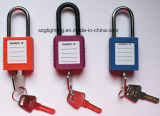 StahlLockout Safety Series Padlock mit Nylon Shackle