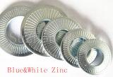 Les dispositifs de fixation de la Chine ont crénelé les rondelles plaquées par Dacromet coniques de la rondelle de freinage de rondelle à ressort (NFE25511)