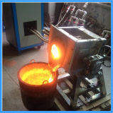Induction Furnace pour Melting 50kg Copper Bronze Brass Metal (JLZ-45)