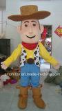 Vaqueiro arborizado do ano claro do zumbido do traje da Brinquedo-Mascote