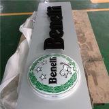 De openlucht LEIDENE van de Reclame Acryl Materiële Lichte Doos van het Bier