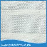 100%年の綿の白いレースファブリック(M15031)