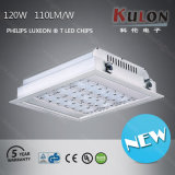 TUV Approved 120W Recessed LED Benzinestation Light