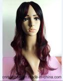 Parrucca sintetica riccia di vendita calda di nuovo modo dei capelli 2016