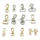 Crochet pivotant pivotant en métal pour sac à corde à laisse