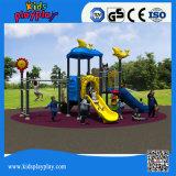 Matériel extérieur de cour de jeu de gosses de gymnastique de jouet extérieur en plastique de forme physique