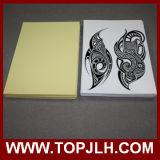 Tamaño del papel A4 de inyección de tinta de transferencia de agua pegatina tatuaje temporal