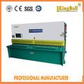 Máquina de corte do pêndulo hidráulico do CNC, máquina de dobramento