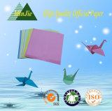 Papier de papier plié par dessin-modèle de Handmake Origami d'école de qualité