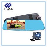 5.0 인치 자동 비디오 녹화기 Dashcam 자동 이중 카메라 렌즈 차 DVR