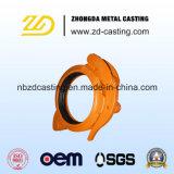 Válvula de Customed con acero de carbón estampando con alta calidad