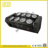 8PCS * 10W CREE principal móvil de la etapa de la luz LED para Eventos