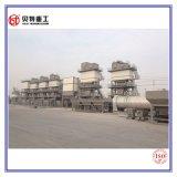 Mezcla caliente de Dedustor del bolso planta de mezcla del asfalto de la protección del medio ambiente de 80 t/h con la emisión inferior